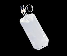 "Standard Bags Luer® Lock Connectors STD 3 Ports, 20"" +20"" + 20"" Tubing"